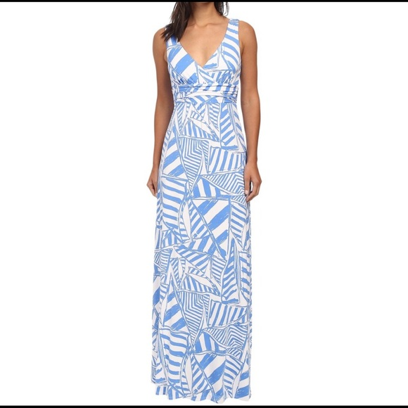 Lilly Pulitzer Yacht Maxi Dress ⛵️